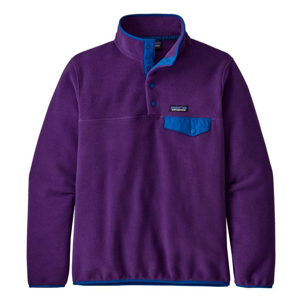 Patagonia Women's Lightweight Synchilla Snap-T Fleece Pullover PURPLE_PUR
