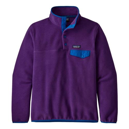 Patagonia Women's Lightweight Synchilla Snap-T Fleece Pullover Purple_pur