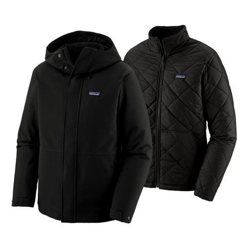 Patagonia Men's Lone Mountain 3-in-1 Jacket Black_blk