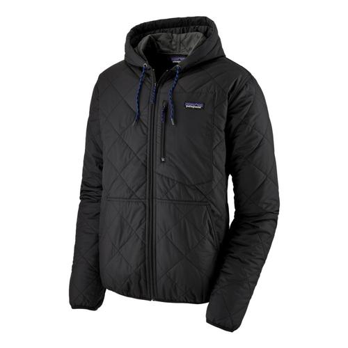 Patagonia Men's Diamond Quilted Bomber Hoody Black_blk