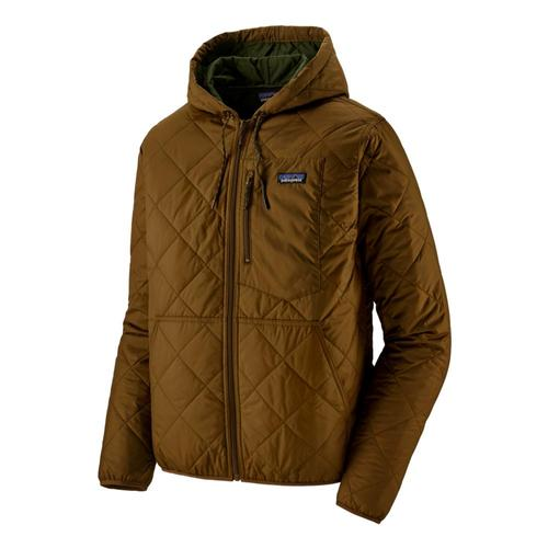 Patagonia Men's Diamond Quilted Bomber Hoody Brown_owbr