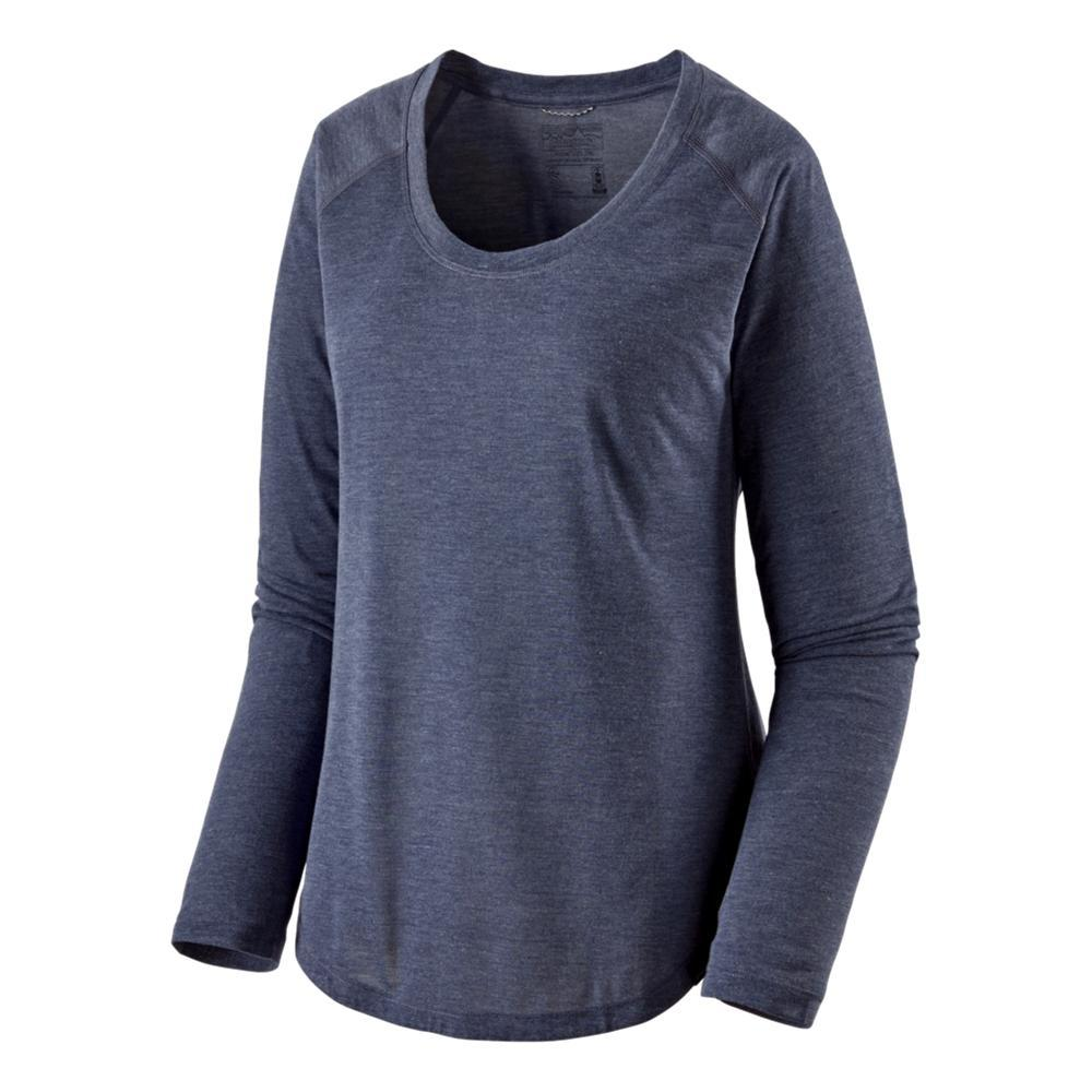 Patagonia Women's Long-Sleeved Capilene Cool Trail Shirt NAVY_CNY