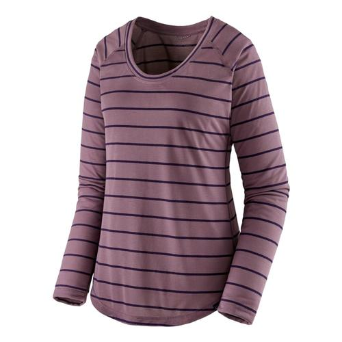 Patagonia Women's Long-Sleeved Capilene Cool Trail Shirt Purple_fshp