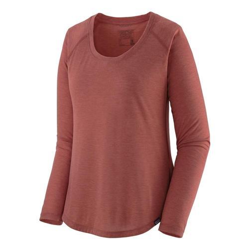 Patagonia Women's Long-Sleeved Capilene Cool Trail Shirt Rosehp_rhp