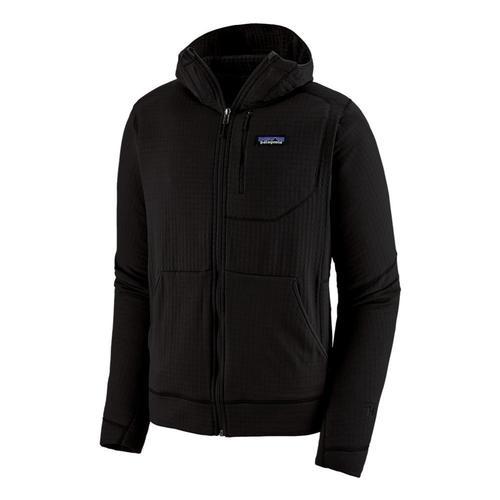 Patagonia Men's R1 Regulator Fleece Full-Zip Hoody Black_blk