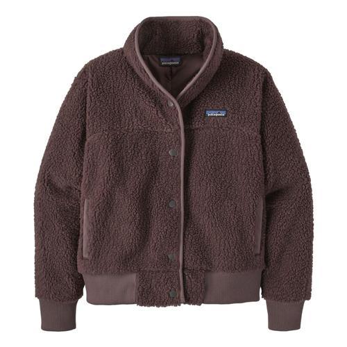 Patagonia Women's Snap Front Retro-X Fleece Jacket Brown_dubn