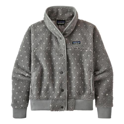 Patagonia Women's Snap Front Retro-X Fleece Jacket Grey_sgry
