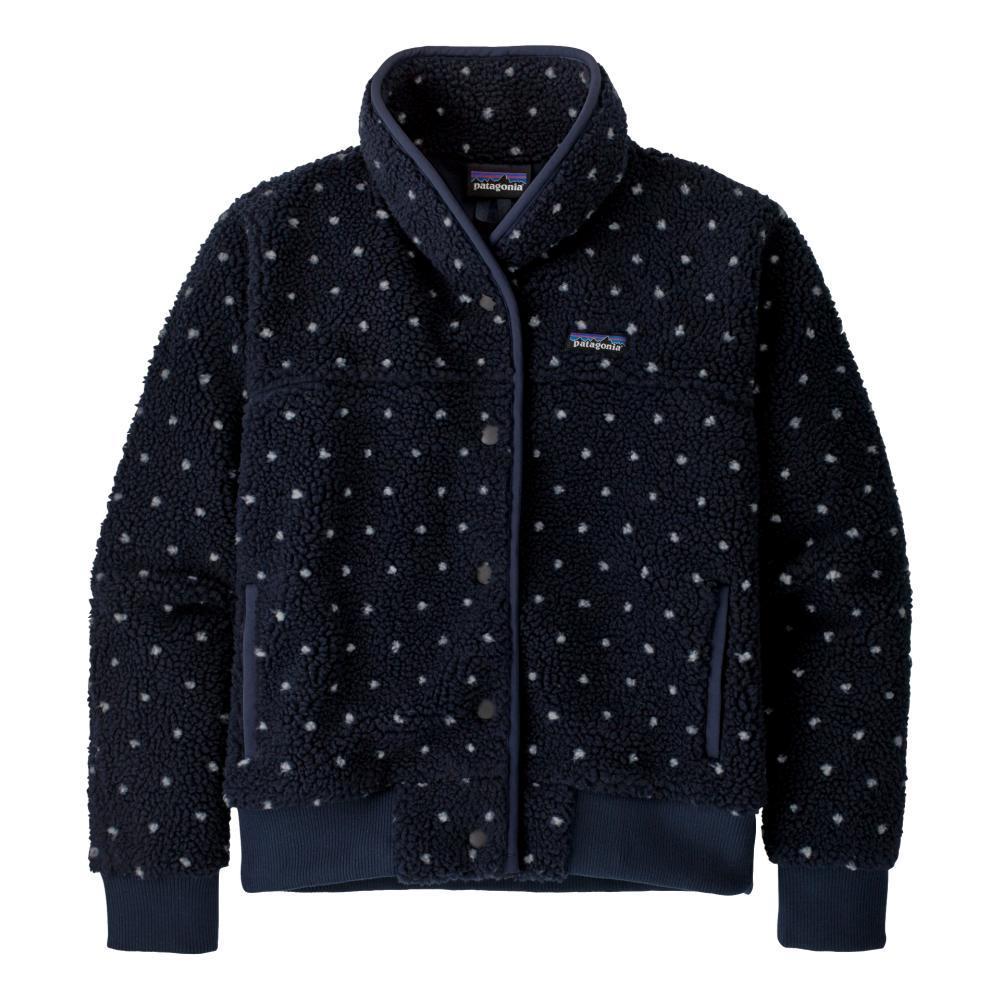 Patagonia Women's Snap Front Retro-X Fleece Jacket NAVY_NENA