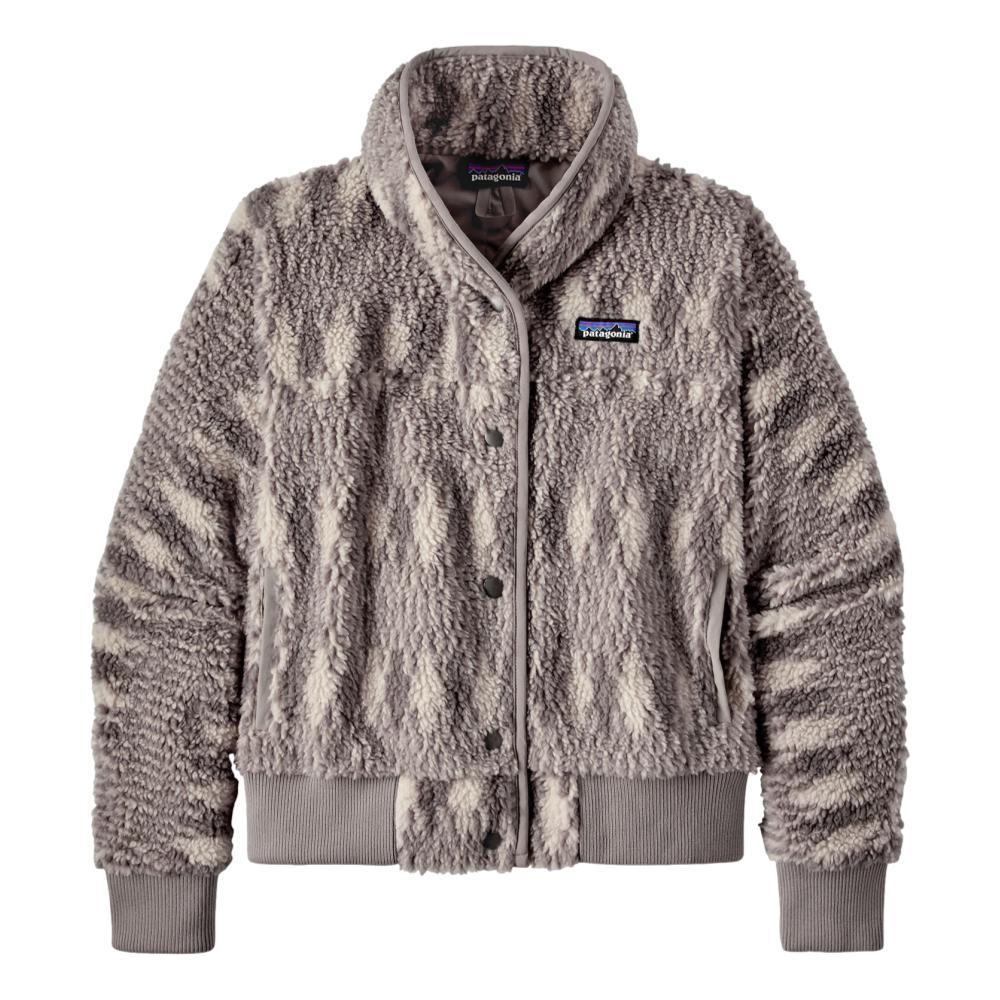Patagonia Women's Snap Front Retro-X Fleece Jacket PUMICE_NCPU