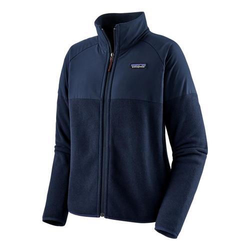Patagonia Women's Lightweight Better Sweater Shelled Fleece Jacket Navy_nena