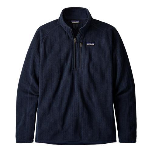 Patagonia Men's Better Sweater Rib Knit 1/4-Zip Fleece Navy_nenk
