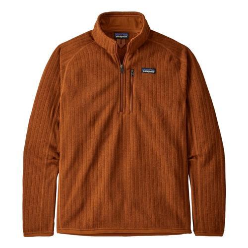 Patagonia Men's Better Sweater Rib Knit 1/4-Zip Fleece Wood_wobk