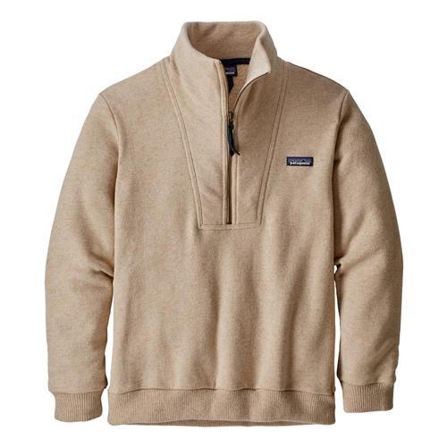 Patagonia Men's Woolie Fleece Pullover Oatmeal_oat