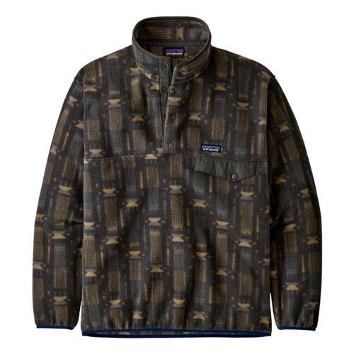 Patagonia Men's Synchilla Snap-T Fleece Pullover Grey_tgfg