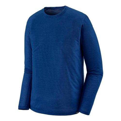 Patagonia Men's Long-Sleeved Capilene Cool Trail Shirt Blue_sprb