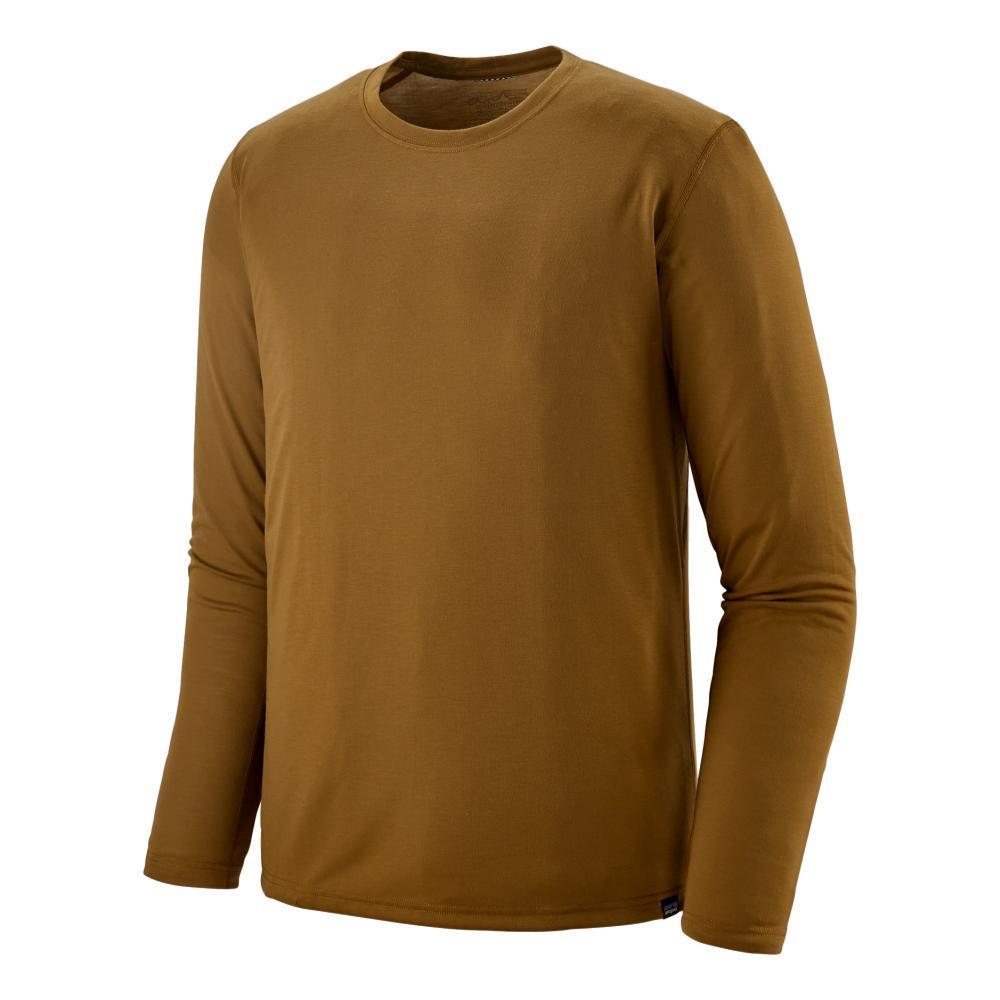 Patagonia Men's Long-Sleeved Capilene Cool Trail Shirt BROWN_MULB