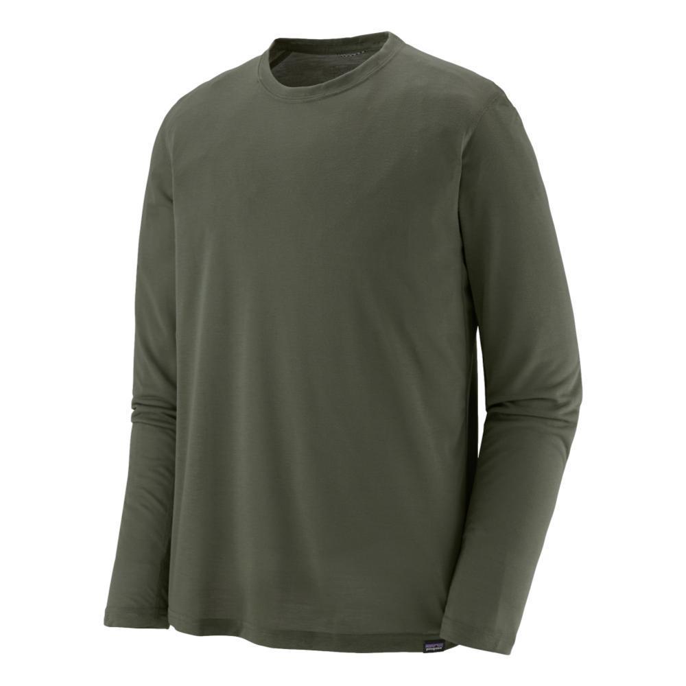 Patagonia Men's Long-Sleeved Capilene Cool Trail Shirt GREEN_INDG