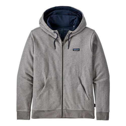 Patagonia Men's P-6 Label French Terry Full-Zip Hoody Grey_fea