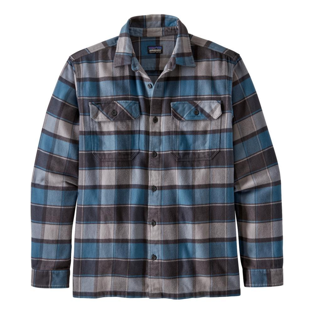 Patagonia Men's Long-Sleeved Fjord Flannel Shirt BLUE_PPBL