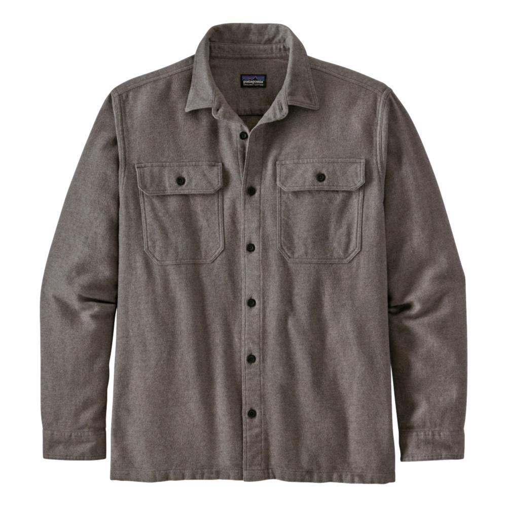 Patagonia Men's Long-Sleeved Fjord Flannel Shirt GREYBL_RFJH