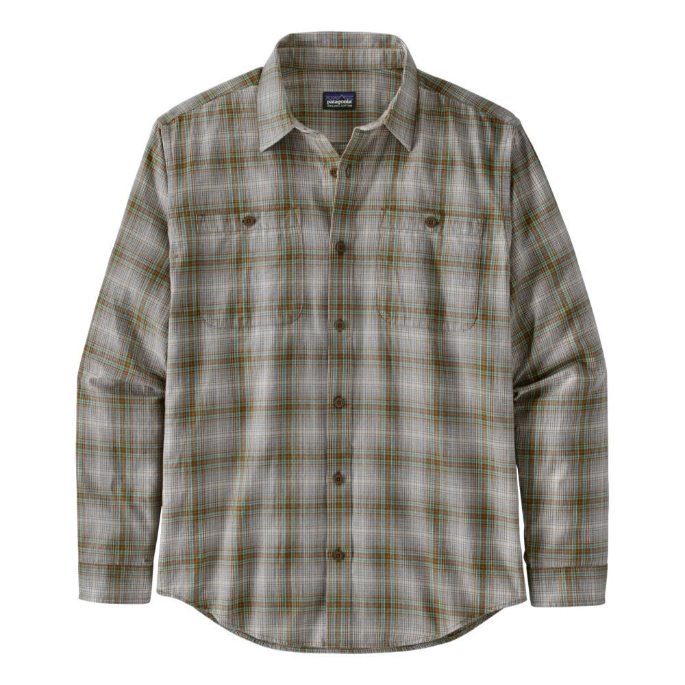 Patagonia Men's Long-Sleeved Organic Pima Cotton Shirt BTAN_BTTA