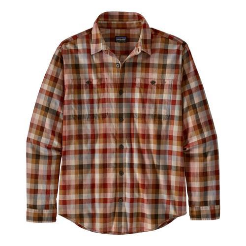 Patagonia Men's Long-Sleeved Organic Pima Cotton Shirt Gtan_gtta