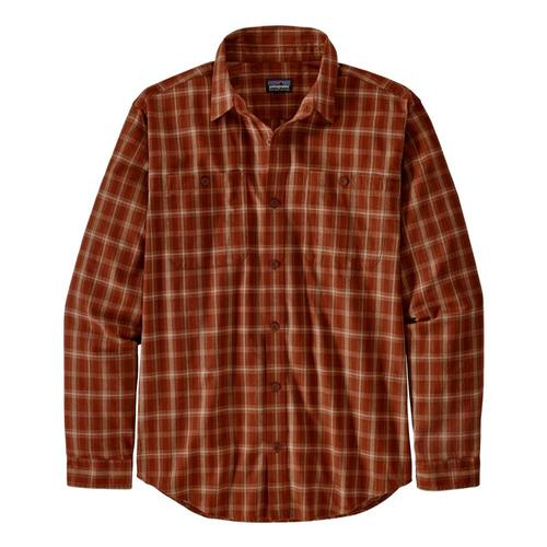 Patagonia Men's Long-Sleeved Organic Pima Cotton Shirt Red_brbr