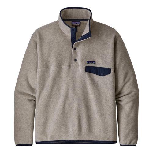 Patagonia Men's Lightweight Synchilla Snap-T Fleece Pullover Oatmeal_oat