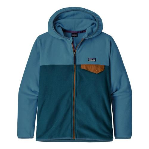 Patagonia Boys Micro D Snap-T Fleece Jacket Pgnblu_pgbe