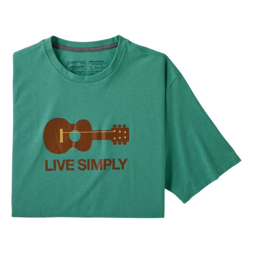 Patagonia Men's Live Simply Guitar Responsibili-Tee LBYG