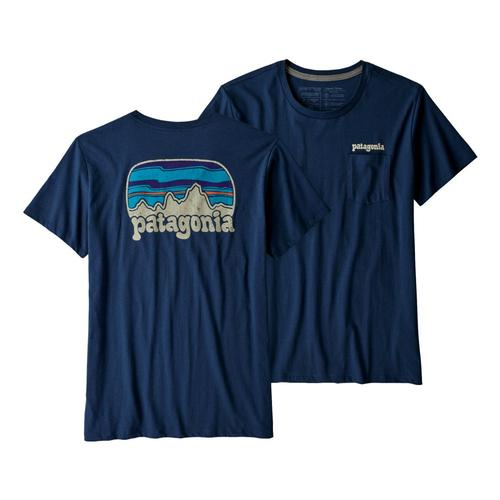 Patagonia Women's Fitz Roy Far Out Organic Cotton Crew Pocket T-Shirt Snbl
