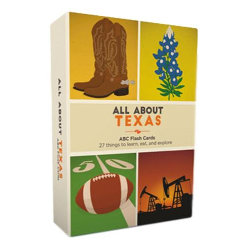 All About Texas: ABCs of the Lone Star State by Ashley Holm .