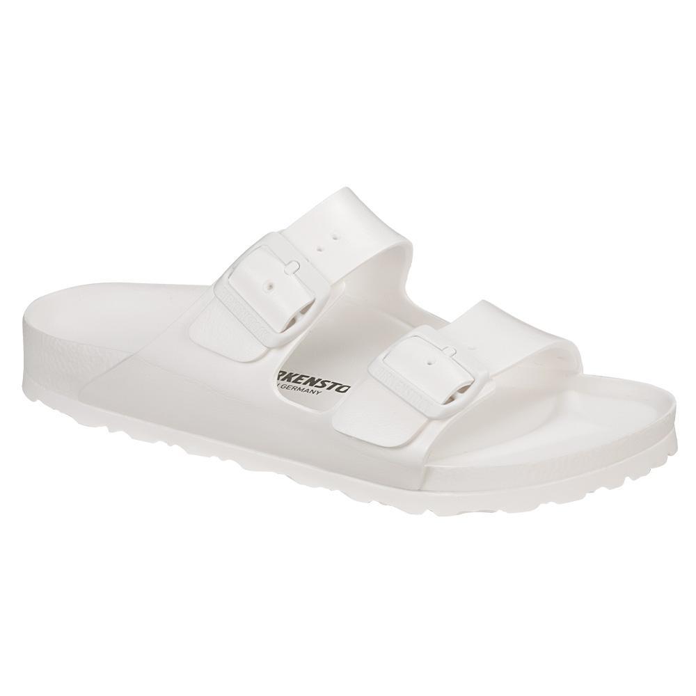 Birkenstock Men's Arizona Essentials EVA Sandals - Regular WHITE