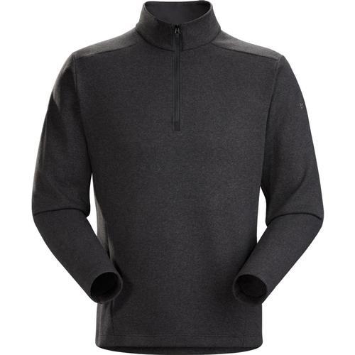 Arc'teryx Men's Covert LT 1/2 Zip Fleece Blkhthr