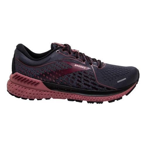 Brooks Women's Adrenaline GTS 21 Road Running Shoes Blk.Bpl.Nct_050