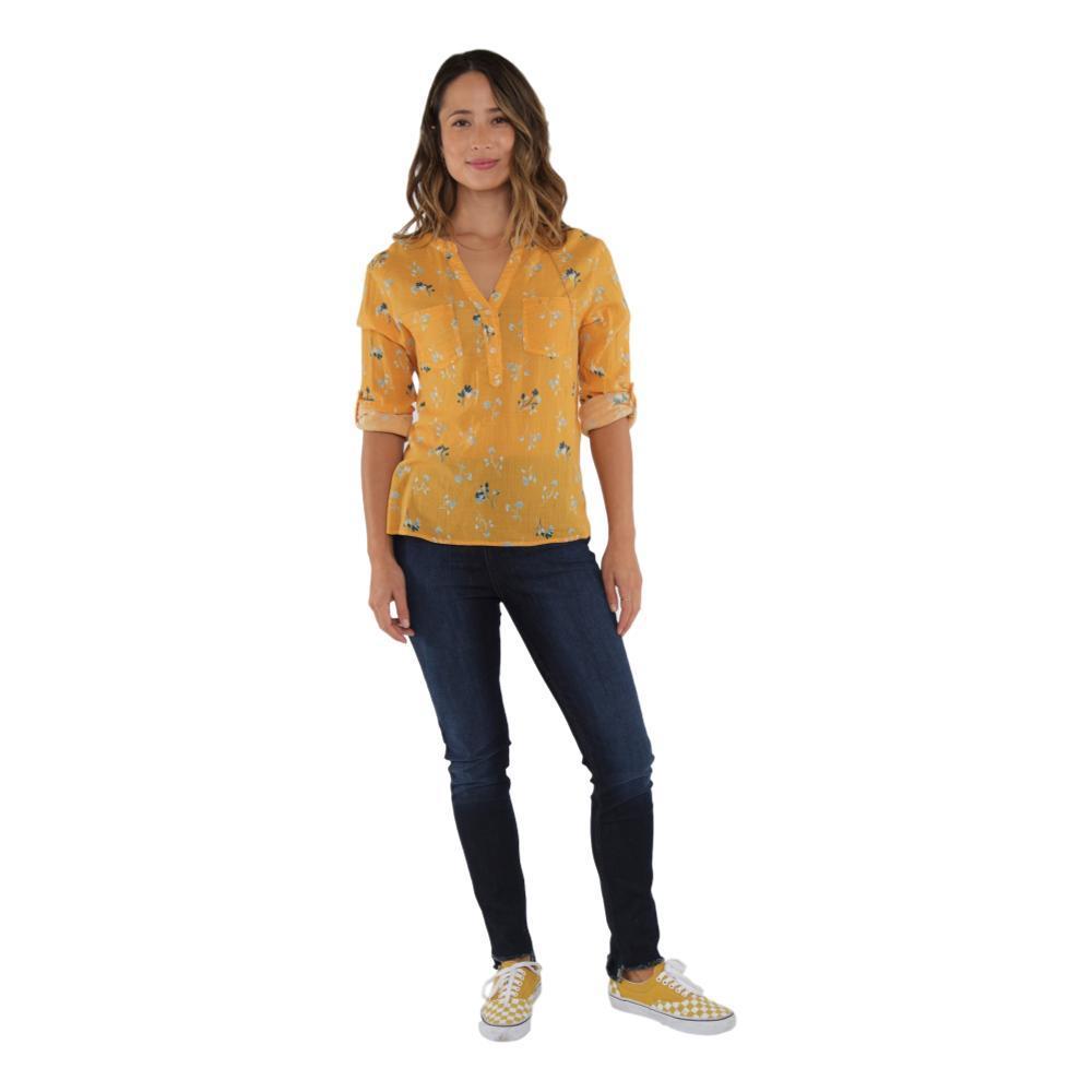Carve Designs Women's Dylan Gauze Shirt SUNFLWR_812