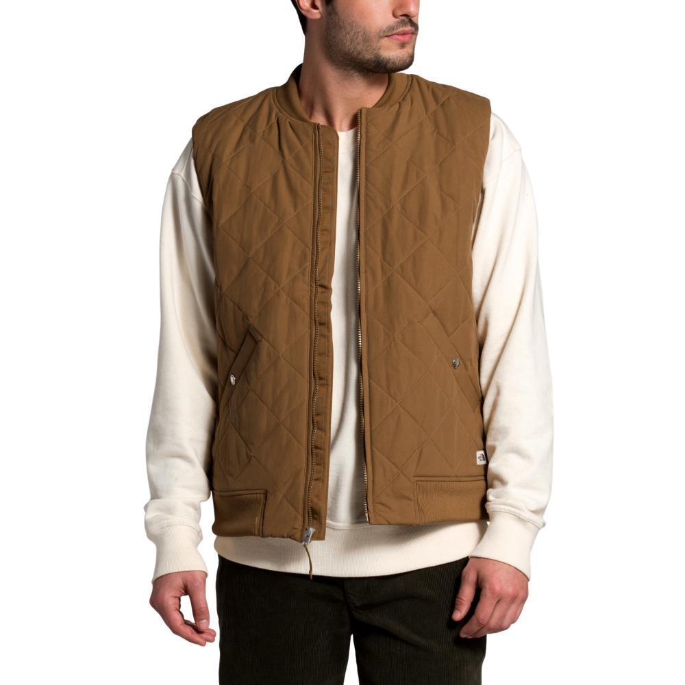 The North Face Men's Cuchillo Insulated Vest BROWN_173