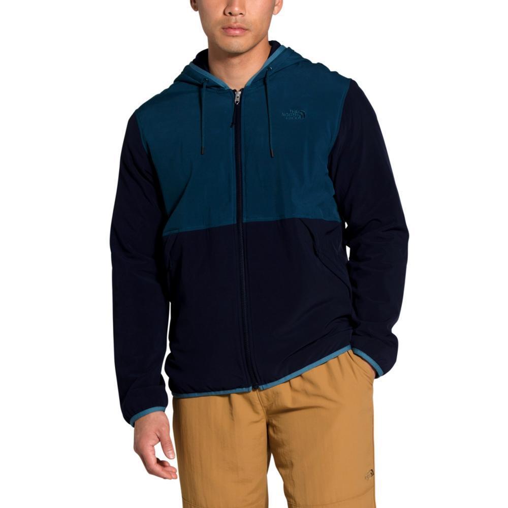 The North Face Men's Mountain Sweatshirt Full Zip Hoodie BLUE_SG5