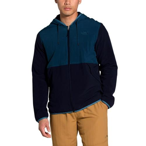 The North Face Men's Mountain Sweatshirt Full Zip Hoodie Blue_sg5