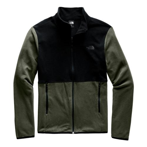 The North Face Men's TKA Glacier Full-Zip Jacket Green_bqw