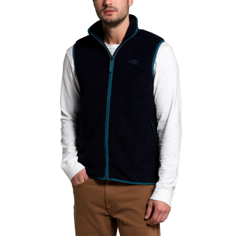 The North Face Men's Dunraven Sherpa Vest NAVY_TE8