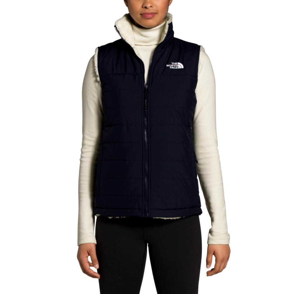 The North Face Women's Mossbud Insulated Reversible Vest NAVY_SJ2