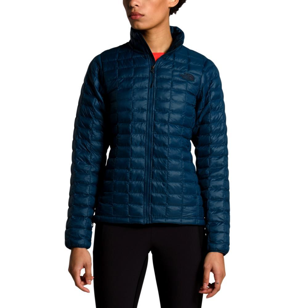 The North Face Women's ThermoBall Eco Vest TEAL_3SQ