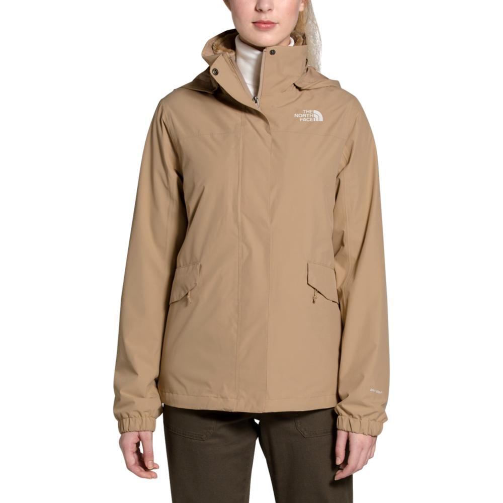 The North Face Women's Osito Triclimate Jacket KHAKI_H7E