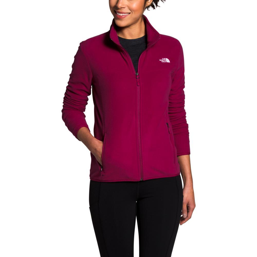 The North Face Women's TKA Glacier Full-Zip Jacket PLUM_CSG