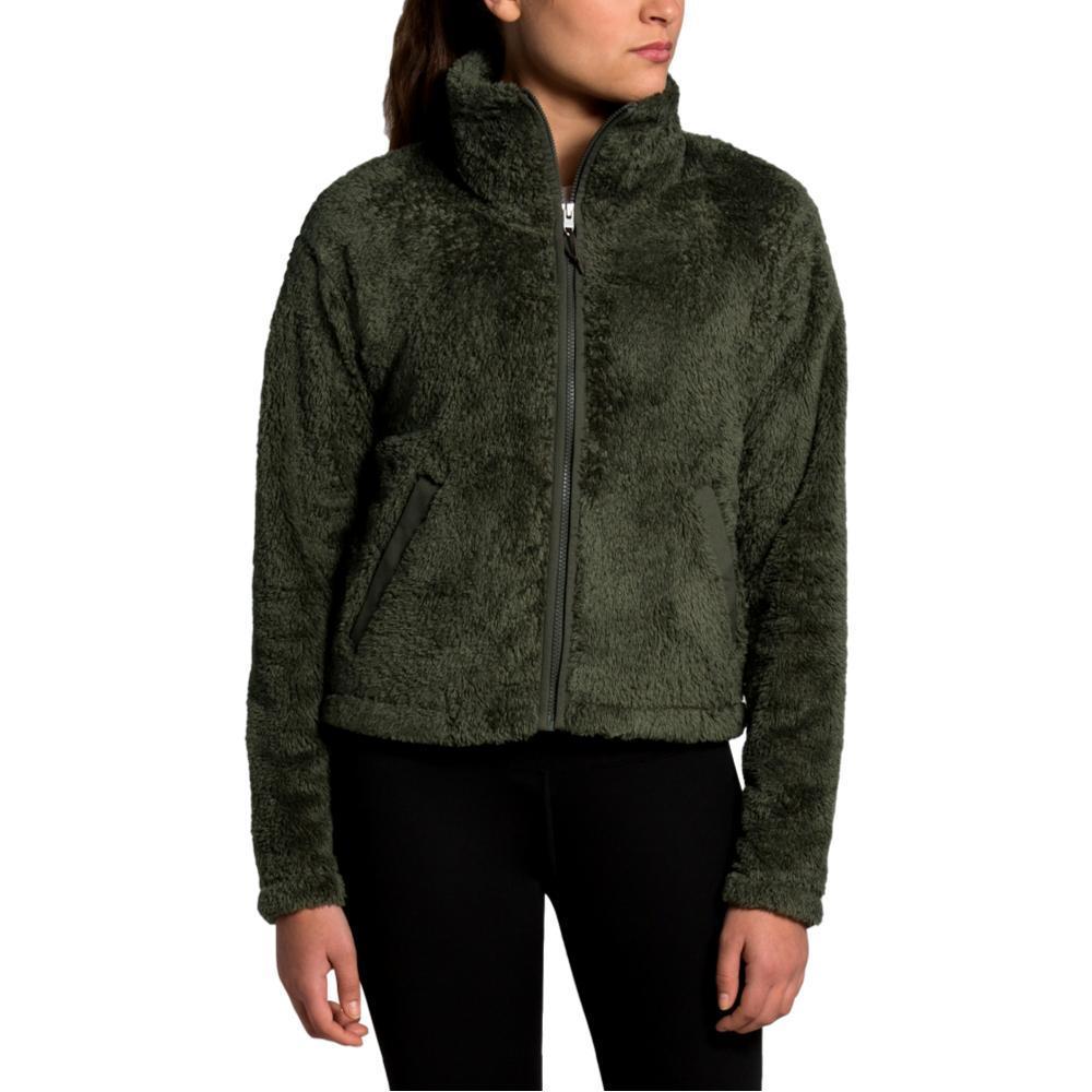 The North Face Women's Furry Fleece 2.0 Jacket GREEN_21L