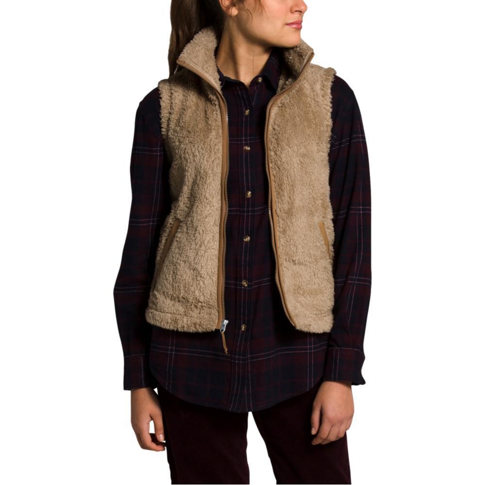 The North Face Women's Furry Fleece Vest KHAKI_TC6