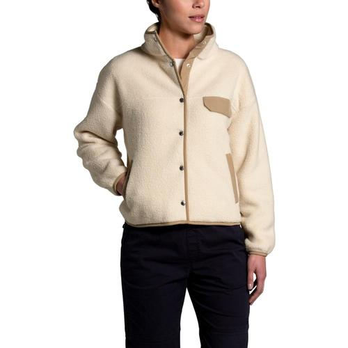 The North Face Women's Cragmont Fleece Jacket Sand_u41