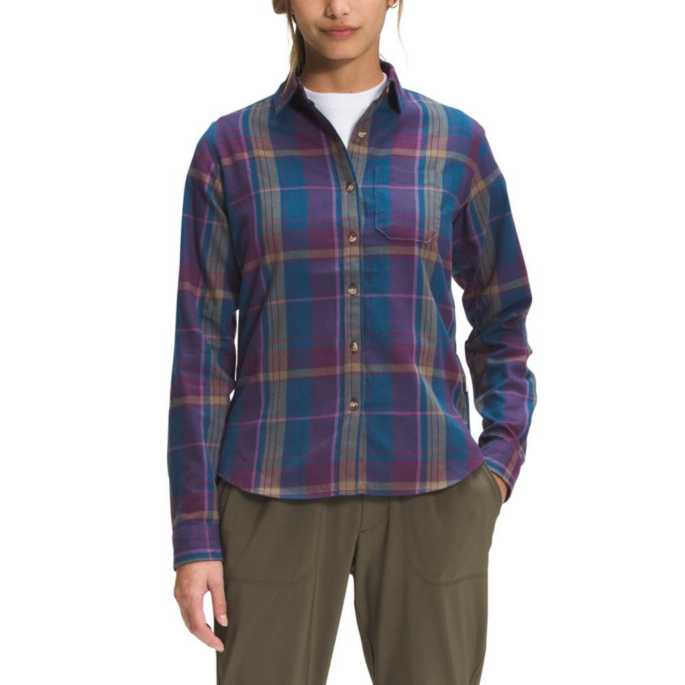 The North Face Women's Berkeley Long Sleeve Girlfriend Shirt BLWINE_30U