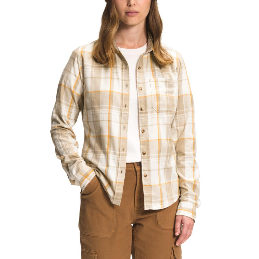 The North Face Women's Berkeley Long Sleeve Girlfriend Shirt FLAXDO_309